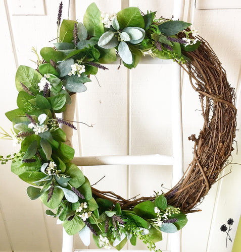 Spring Wreath Making Class - Sunday, April 19, 2020