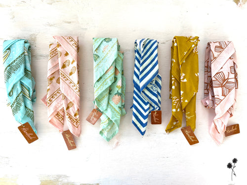 Hemlock Bandanas - Pastel Collection