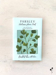 Parsley Seed Packet