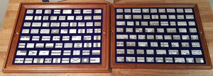 1975 Flags of the United Nations Sterling Silver Ingot Collection