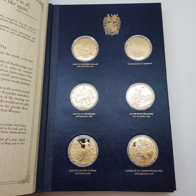 1974 Sterling Silver Churchill Centenary Medals | Not specified