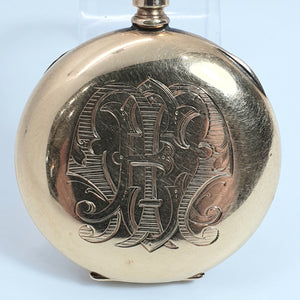 Lady Bertha Gold Filled Pocket Watch