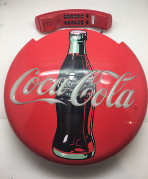 1995 Coca Cola Disc Telephone IN ORIGINAL BOX