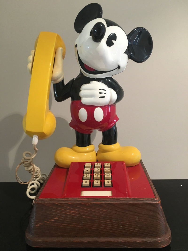 Original 1976 Mickey Mouse Telephone