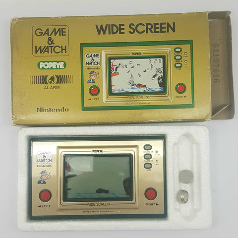 Nintendo Game and Watch Popeye PP-23 Boxed