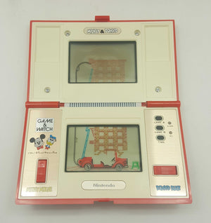 Nintendo Game and Watch Mickey & Donald DM-53 Boxed