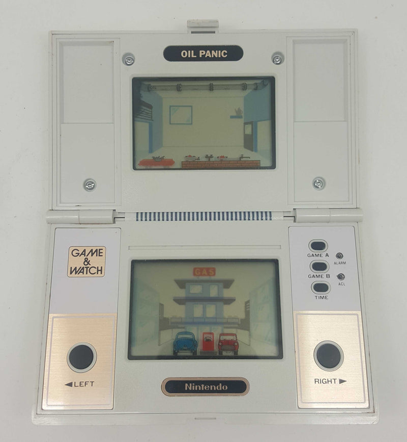 Nintendo Game & Watch Oil Panic (OP-51) Boxed