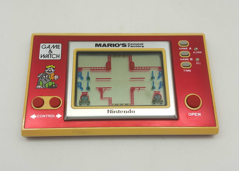 Nintendo Game and Watch Mario's Cement Factory (ML-102)