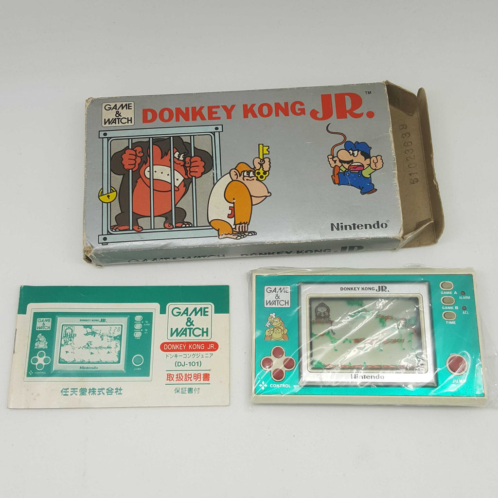 Nintendo Game and Watch Donkey Kong Jr (DJ-101) Boxed
