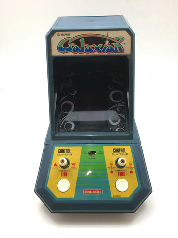 1981 Handheld Arcade Video Game GALAXIAN COLECO  Hand held Tabletop