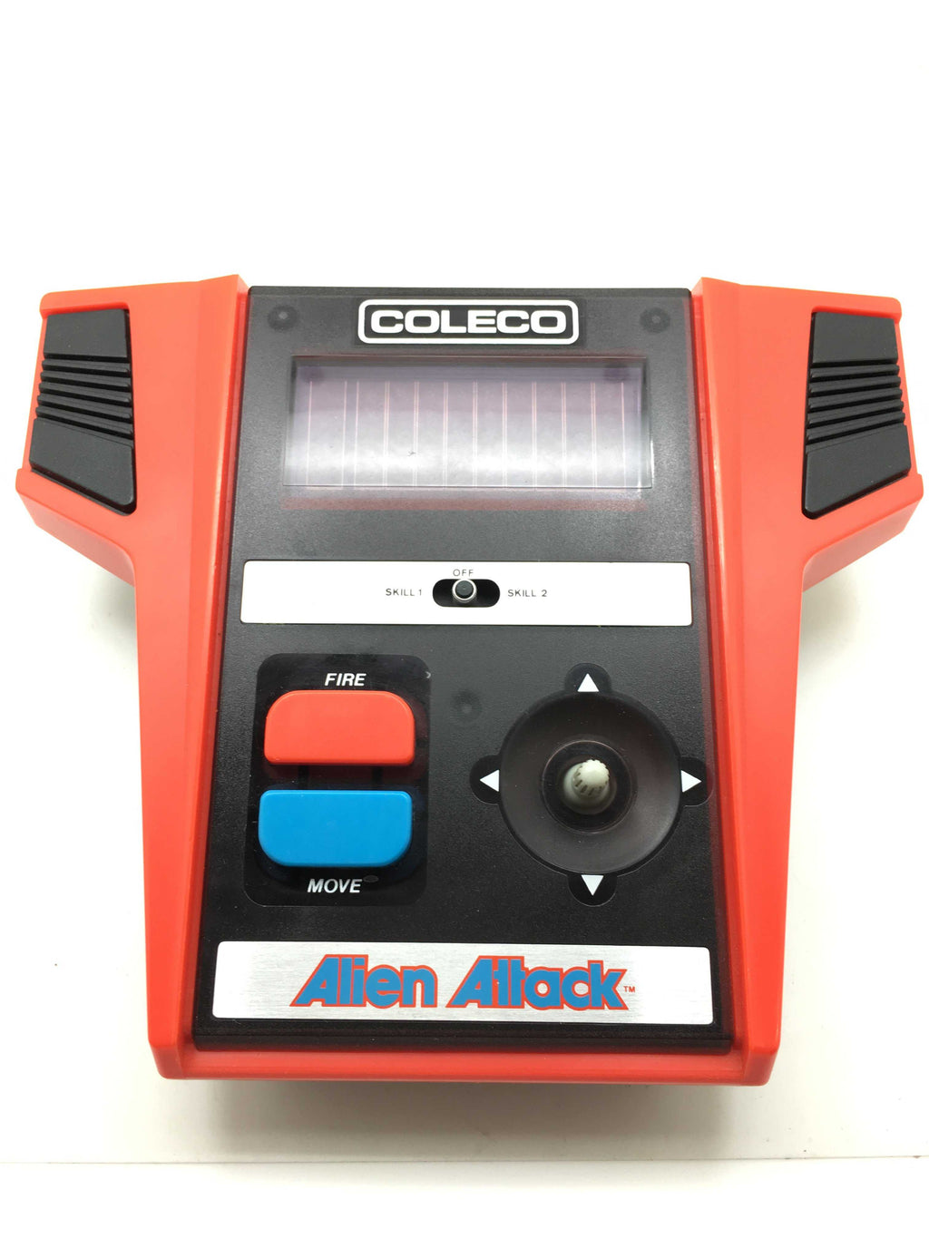 Circa 1980's Handheld Arcade Video Game ALIEN ATTACK COLECO ~Hand held Tabletop