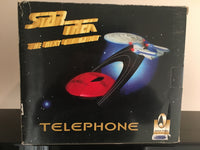 1996 Star Trek USS Enterprise Telephone in Original Box