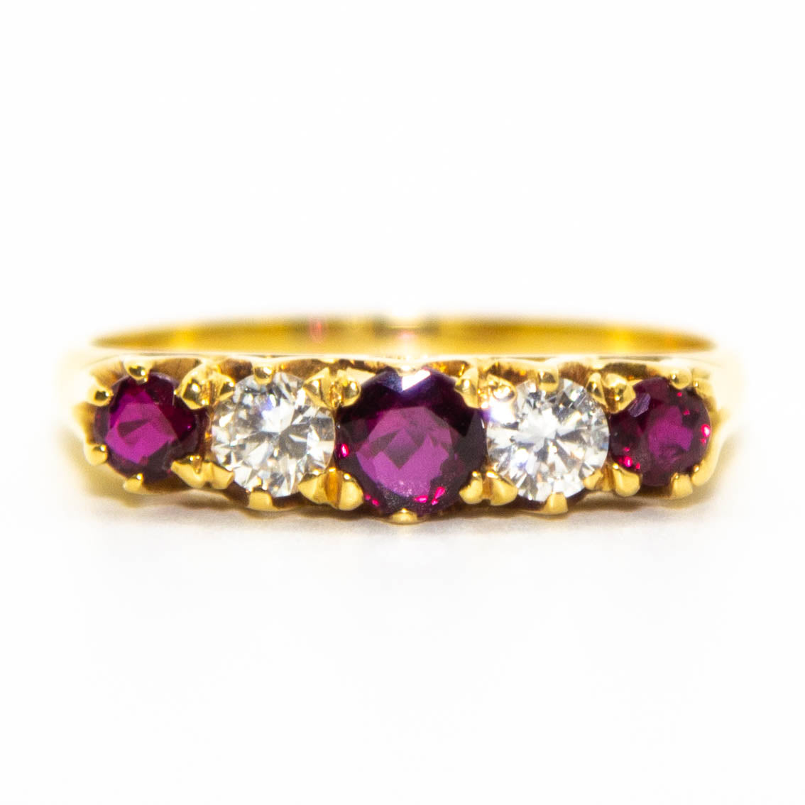 18ct Ruby Ring