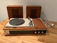 1967/8 Vintage Mid Century Phillips Discoteak Portable Record Player
