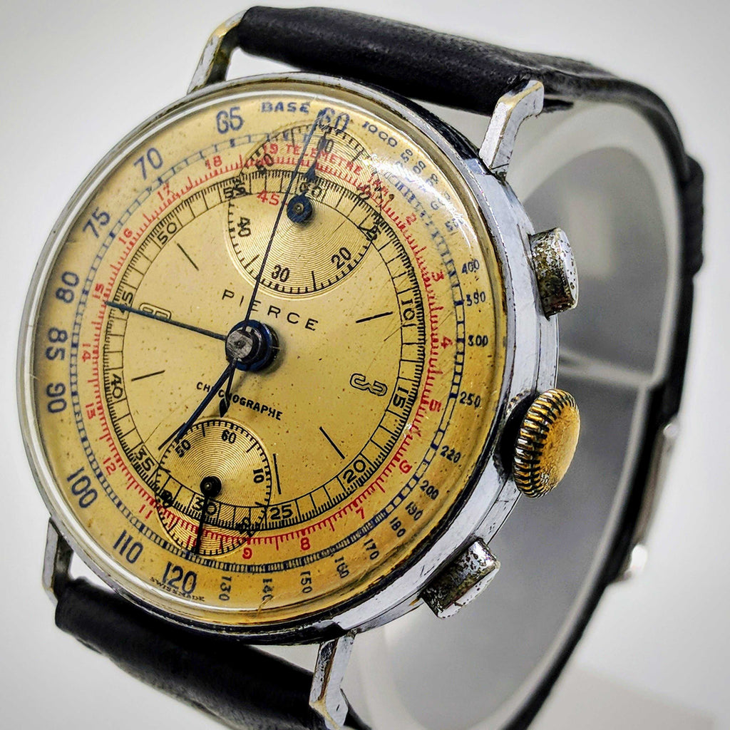 Pierce Chronograph 1940's Pilot's Watch
