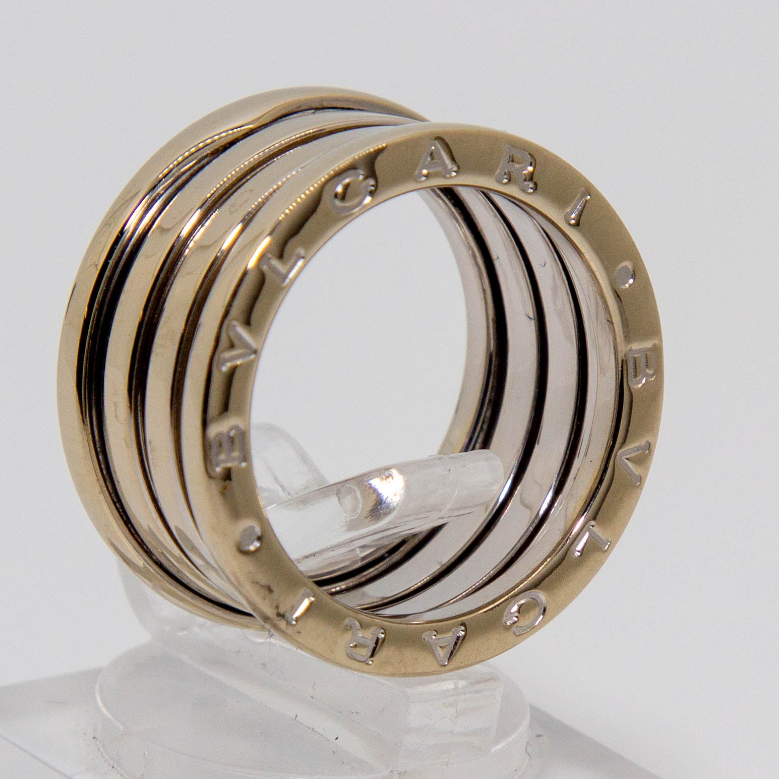 18ct White Gold Ring Bvlgari