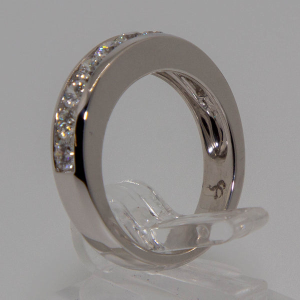 18ct W/G Diamond Ring #7