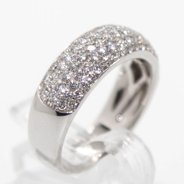 18ct White Gold Diamond Ring #25