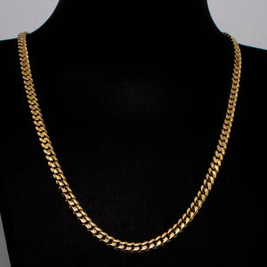 18ct Yellow Gold Curb Link Chain