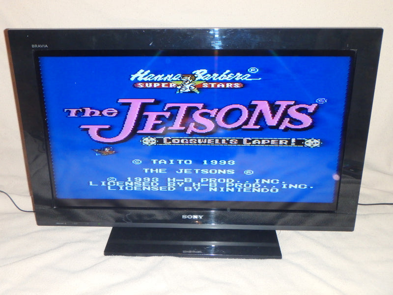 Nintendo Entertainment System Game Cartridge - The Jetsons Cogswell's Caper