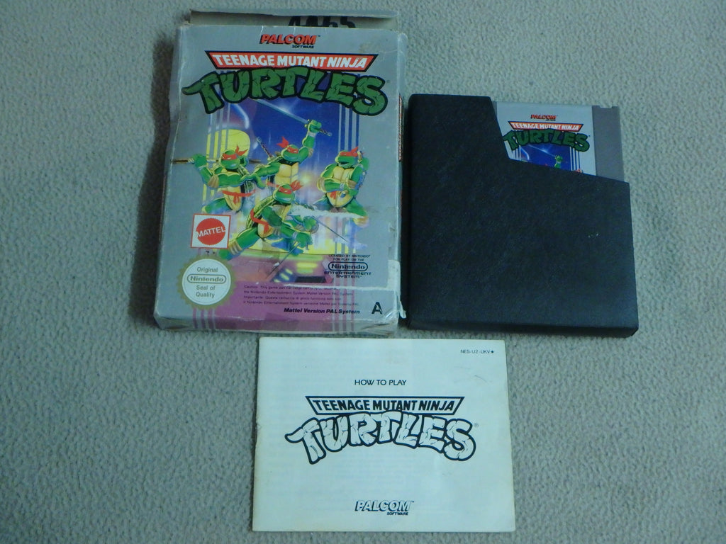Nintendo Entertainment System  (NES) Game Cartridge - Teenage Mutant Ninja Turtles | MJ