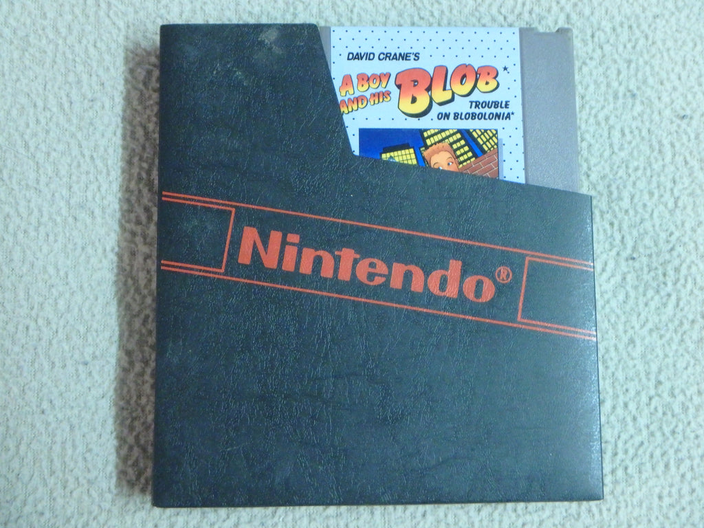 Nintendo Entertainment System (NES) Game Cartridge - David Crane's A Boy and His Blob, Trouble on Blobonia | MJ