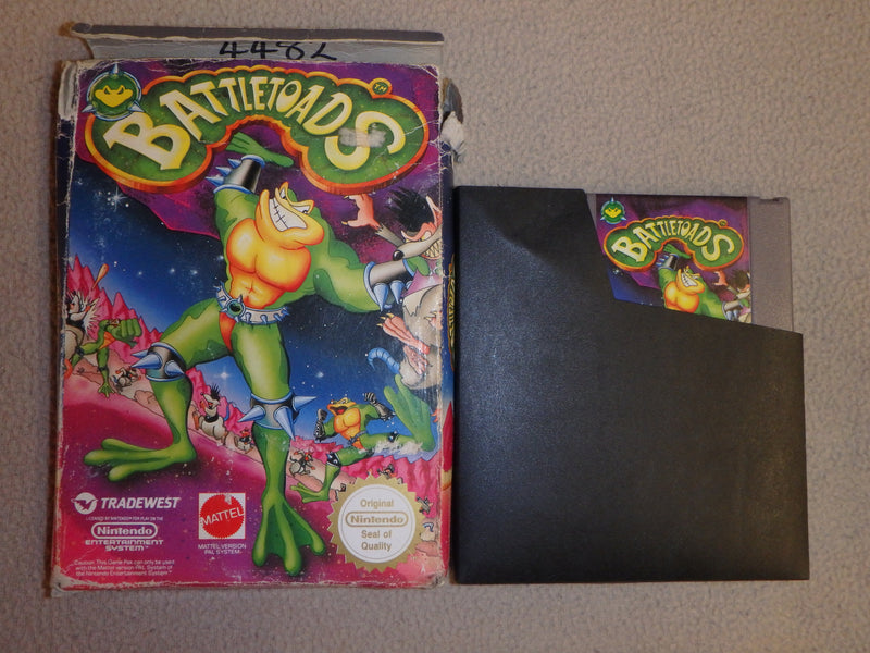 Nintendo Entertainment System Game (NES) Cartridge - Battletoads
