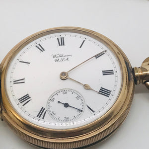 Waltham Bond St Pocket Watch c.1907