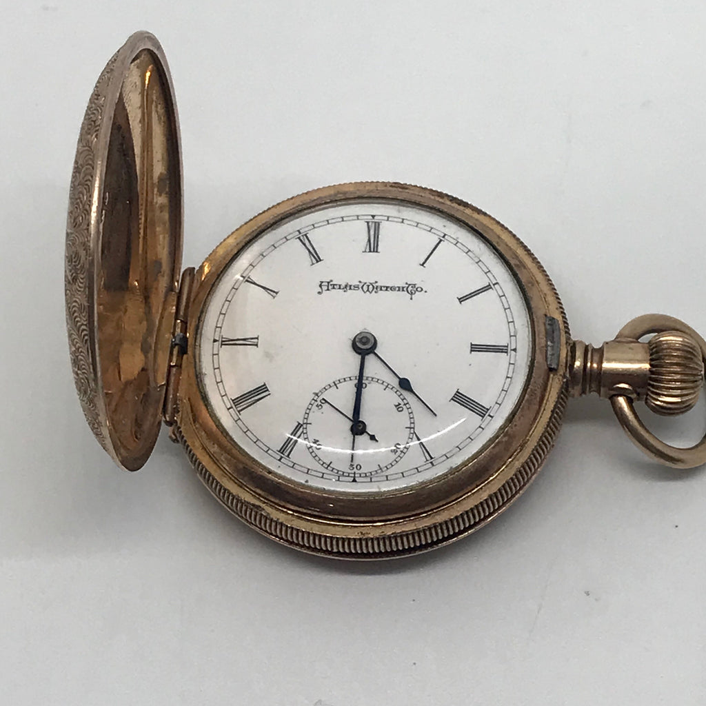 Elgin / Atlas Watch Co. Gold Filled Pocket Watch