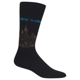 Men's Travel Themed Crew Socks - New York City