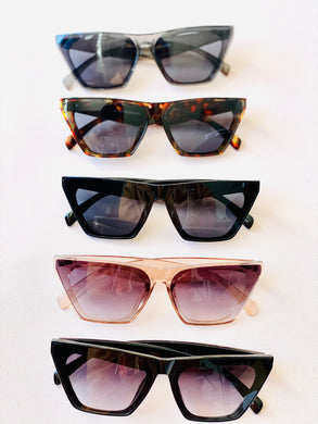 Ellen Angular Sunglasses
