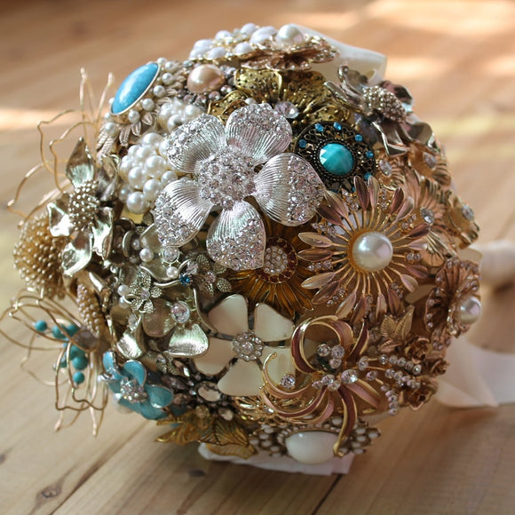 Golden Pearl Bouquet