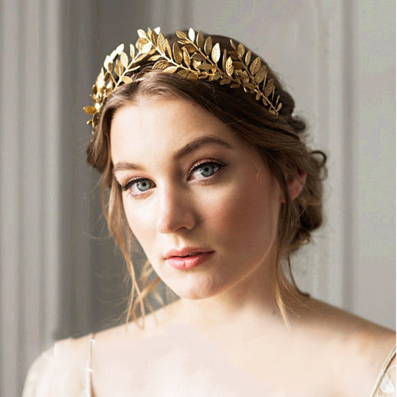 Leaf Bridal Tiara