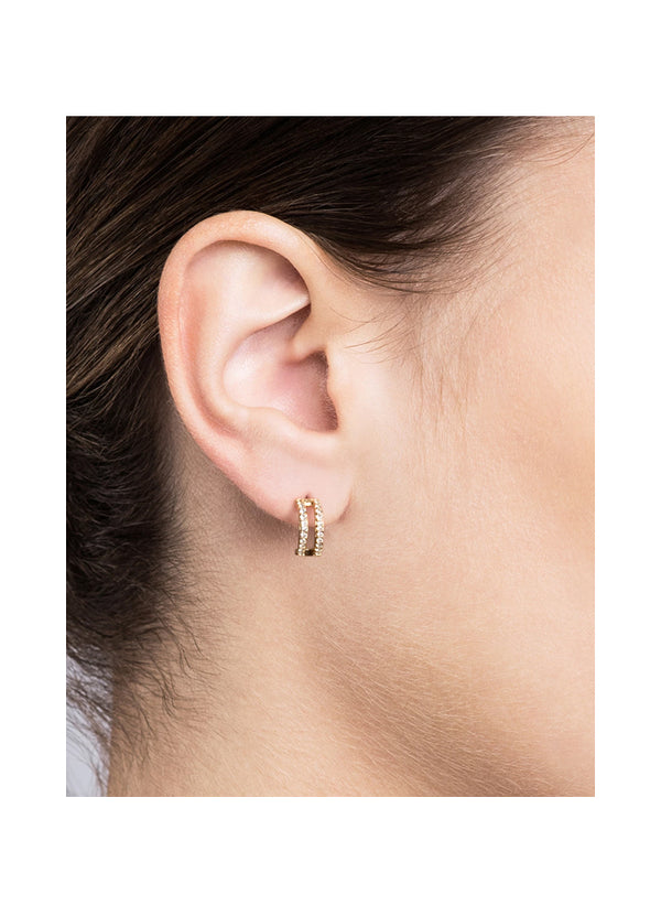 Women's Split Layer Earrings 105-0120