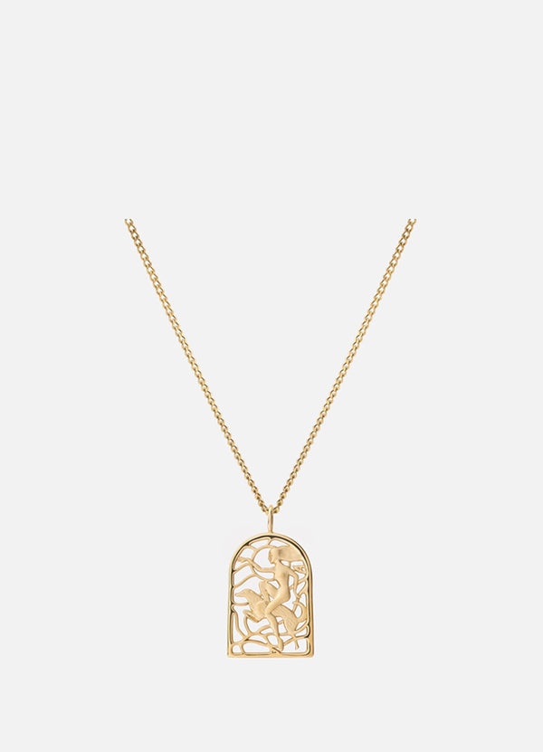 Women's Rider Pendant Necklace 103-0253
