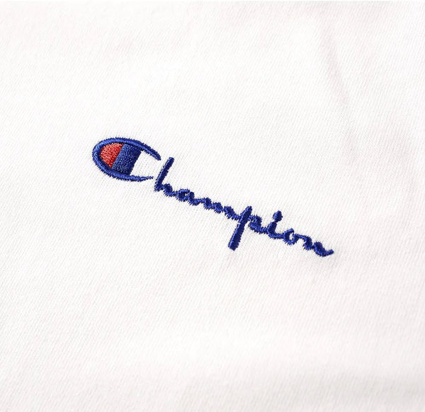 T-Shirt With Script Chest Logo