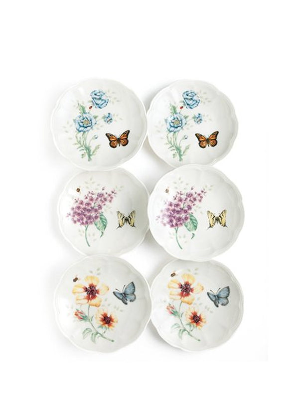Butterfly Mdw Dw Party Plates S/6 817046