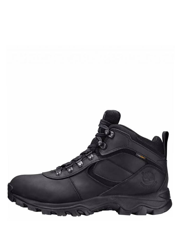 Men's Mt. Maddsen Waterproof Mid Hiker Black Full Grain TB02731R001