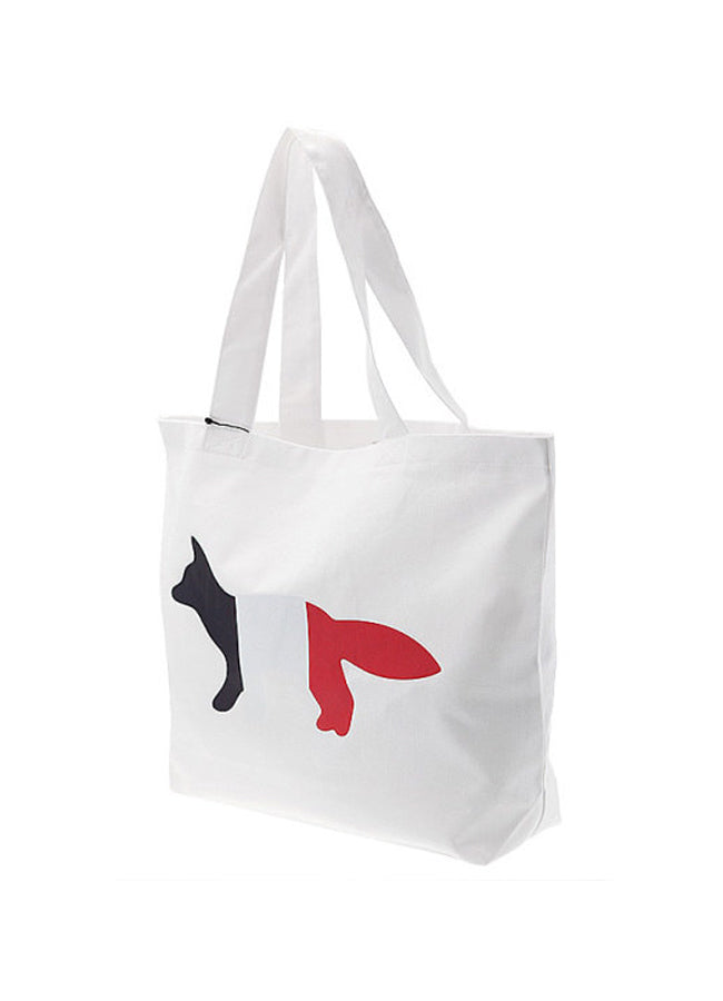 Tote Bag Tricolor Fox Patch
