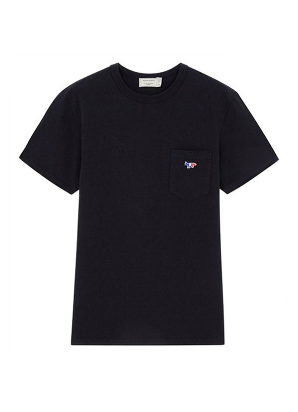Men's Tee-Shirt Tricolor Fox Patch