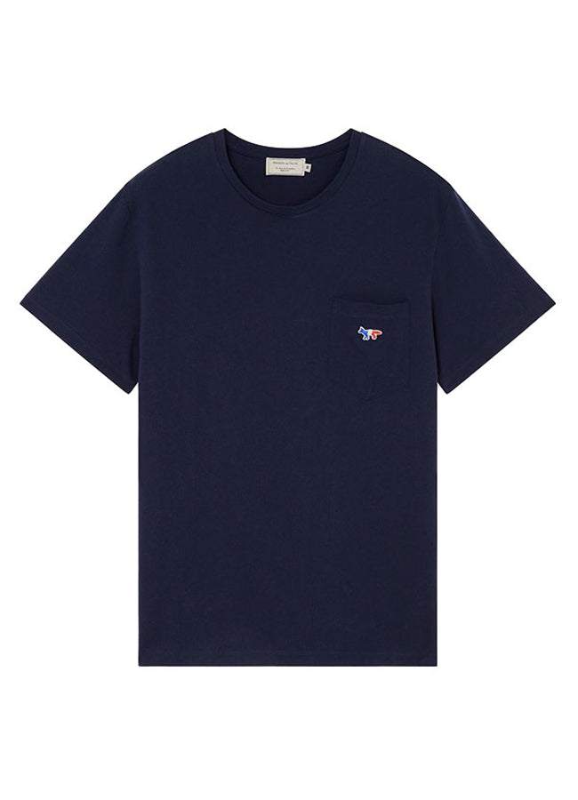 Men's Tee-Shirt Tricolor Fox Patch AM00102KJ0010