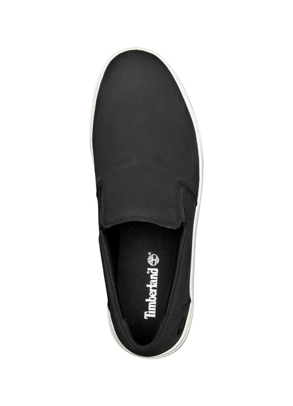 Men's Groveton Slip-On Black Nubuck