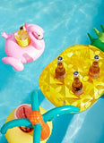 Inflatable Pineapple Drink Holder, Yellow SULDRKPI