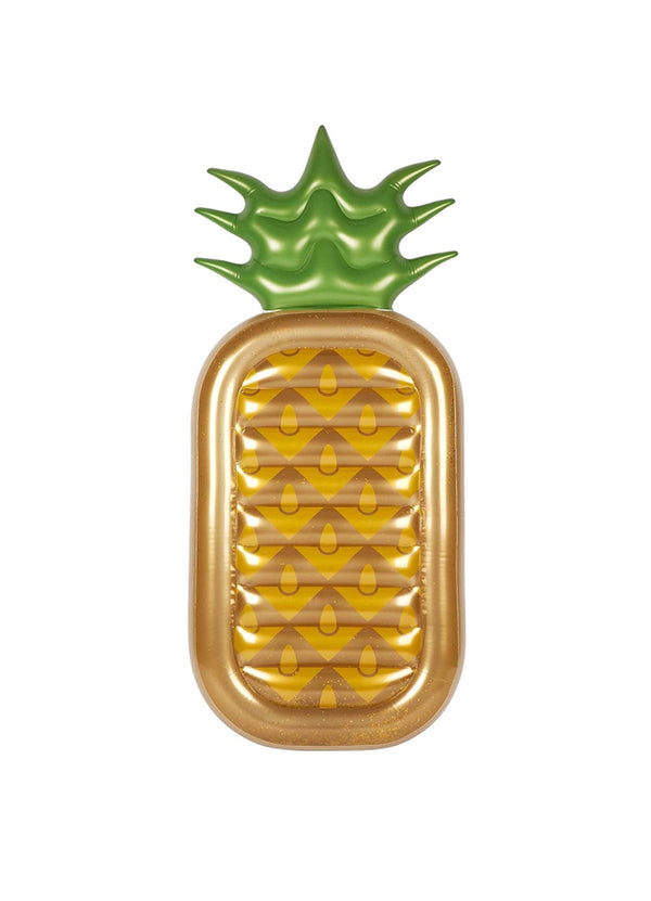 Lie-On Float Gold Pineapple
