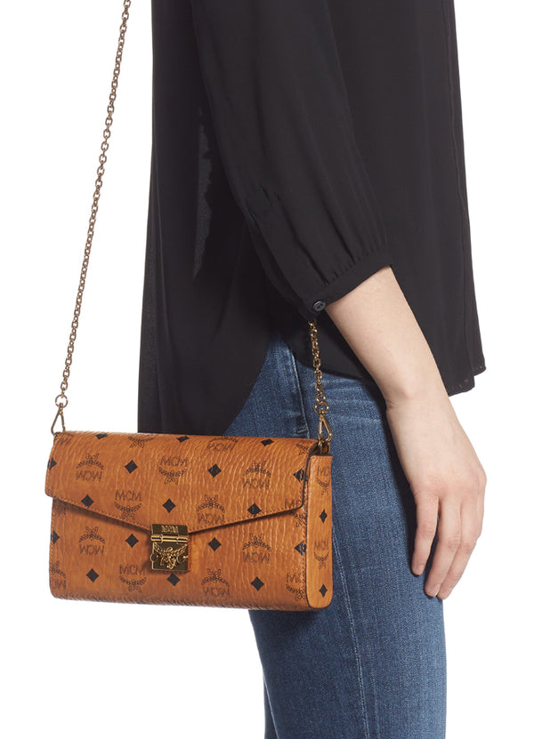 Women's Millie Flap Crossbody In Visetos
