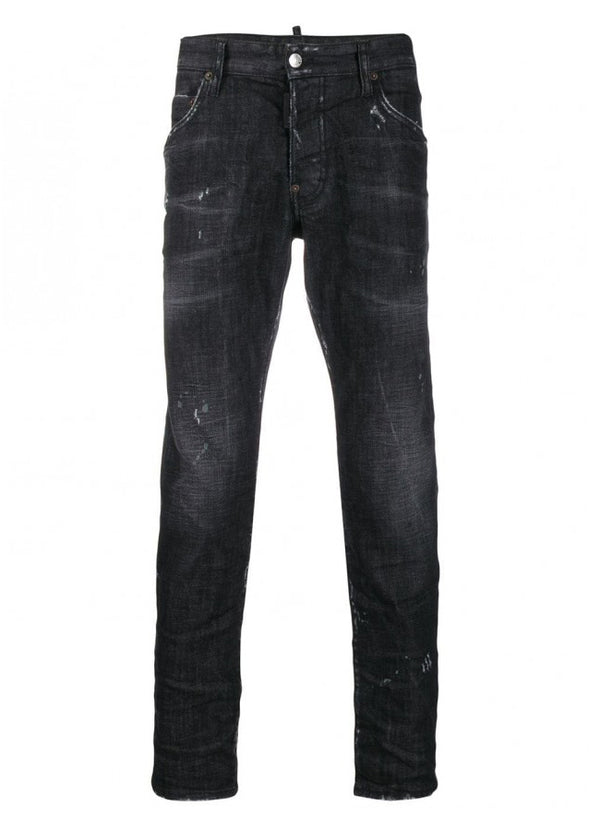 Men's Black Denim Skater Jean