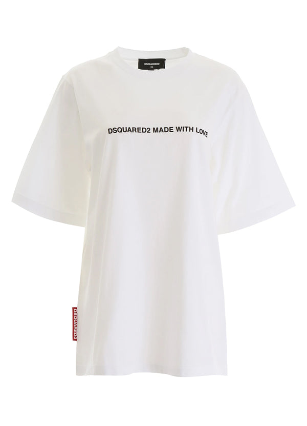 Women's Dsquared2 Made With Love T-Shirt