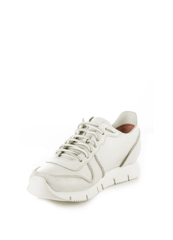 Carrera Sneakers In White Bianchetto Leather