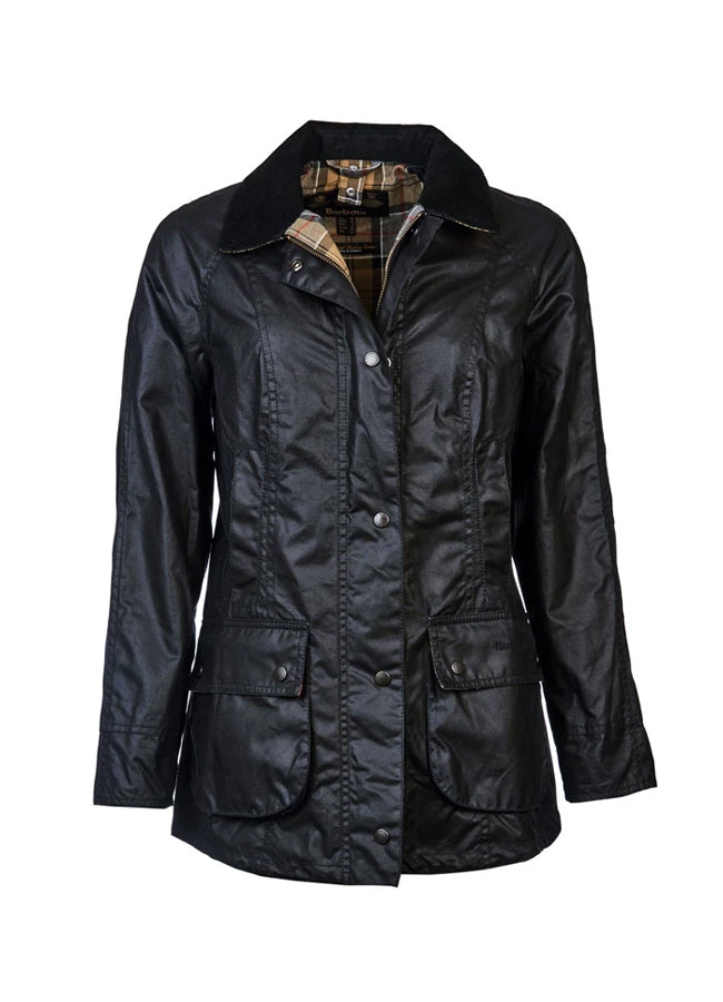 Barbour Beadnell Wax Jacket -Navy LWX0667NY91