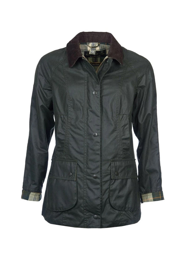 Barbour Beadnell Wax Jacket -Sage LWX0667SG91